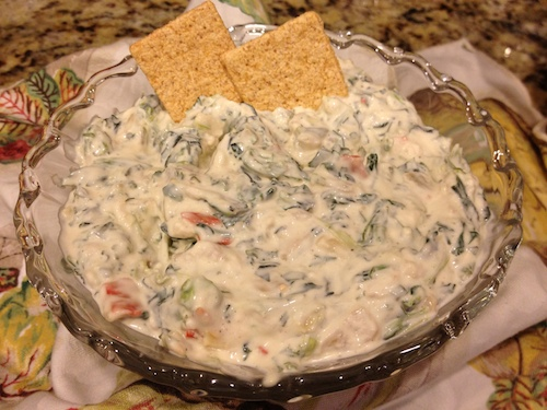 OMG! Spinach Dip